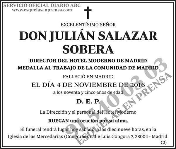 Julián Salazar Sobera